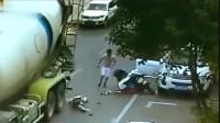 女子以这种方式死去,腰不是监控拍下,大货车的清白谁来还
