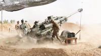 超大口径的M777榴弹炮后坐力有多大? 来看看就知道了!