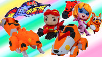 猪猪侠三变系列竞速小英雄小菲菲机甲汽车形态