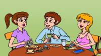 脑力测试:餐厅里的小哥哥和小姐姐,谁是机器人呢?