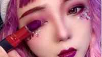 老外看中国女生化妆,涂上口红那一刻,眼睛都直了