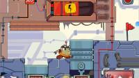 小机器人冒险:开关控制不同的升降机