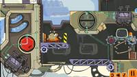 小机器人冒险:把电线接起来,门开了