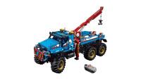 LEGO乐高积木玩具科技机械组系列42070全地形遥控卡车套装速拼