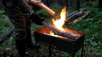 《住进森林》第1集 到森林里露营吃烧烤