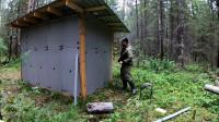 《住进森林》第2集来到我的林中小屋对他进行修复