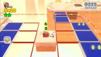 超级马里奥3D世界5-6:每跳一下开关就换一下