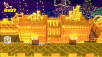 超级马里奥3D世界:坐上一辆黄金打造的火车什么感觉?