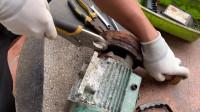 DIY手工水泵修复_修复旧漏水的水泵