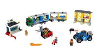 LEGO乐高积木玩具城市系列60169集装箱集散站套装速拼