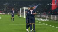 法甲-姆巴佩脚后跟破门 内马尔点杀 巴黎圣日耳曼2-0南特