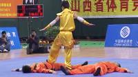 2005年第十届全运会男子武术套路预赛 男子对练 001 徒手对刀枪 徐勰 等(江苏)