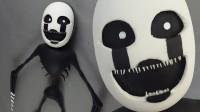 手办:用软泥打造一个戴面具的游戏角色,你认识吗?