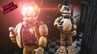 手办:用软泥和铁丝自制一个玩具熊的五夜后宫黄金弗雷迪