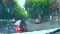 又是一位女司机把油门当刹车了!监控拍摄令老公绝望的10秒