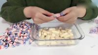 用100颗奶糖做巨无霸大白兔奶糖,如何一次性吃完?我太难了