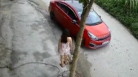 头一次看见这样倒车的女司机,如果不是监控,谁知道她这么牛!