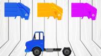 汽车玩具 找到颜色一样的汽车配件 搭配一辆完整的汽车
