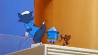 猫和老鼠:汤姆追赶杰瑞,全程都被杰瑞疯狂戏弄,真是只傻猫