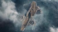 复仇者联盟中航母升天,场面超级震撼!