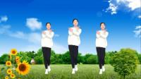 广场舞《百花香》最新网红歌曲简单32步健身操