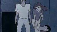 蜡笔小新:小新在鬼屋里被女鬼吓到,爸爸似乎看出了玄机