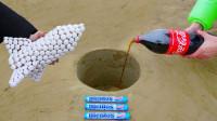 将曼妥思打造成火箭,再放入可乐,网友:这才是真正的可乐火箭!