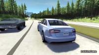 BeamNG 车祸模拟器:奥迪A6关闭车身稳定系统,后果会怎么样?