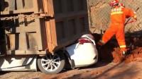 云南一重型货车侧翻压向2车致7死2伤司机已被控制