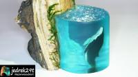 使用滴胶制作的树脂海鲸,你想尝试吗?一起来见识下!