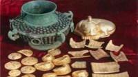 农民挖出40斤黄金和国宝,遭同村村民哄抢,上交博物馆获1万奖励