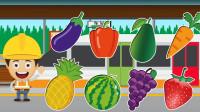 精彩的水果列车 里面装着哪些水果呢?