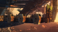 废土科幻大作,地面被恐怖怪兽统治,人类被迫建造巨型天空之城