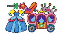 手工制作马车魔法棒连衣裙图像玩具