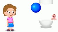 鸡蛋里蹦出彩色球球认识颜色和数字
