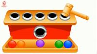 玩具箱子彩色小球玩具