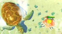 螃蟹模拟器游戏:遇到大乌龟