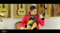 奏鸣曲-尼科罗·帕格尼尼-古典吉他-Nadja Jankovic
