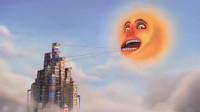搞笑短片:任性太阳不肯下班,暴躁国王对它死啦硬拽,结果悲剧了