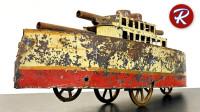 1920年的代顿战列舰玩具,可以被修复一新吗?一起来见识下!