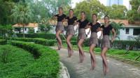 动感舞蹈《野狼disco》强劲的节奏 满满的90年代东北范儿