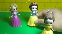 贝儿总是欺负公主们,白雪和灰姑娘去找贝儿,贝儿还不知道悔改,小朋友们,贝儿这样对吗?