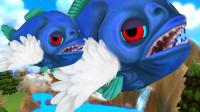 海底大乱斗里的萌新食人鱼就是这么互相坑队友的