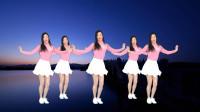 广场舞《桥边姑娘》网红流行歌曲简单动感弹跳步