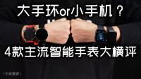 「小白测评」4款主流智能手表大横评 是大手环还是小手机?