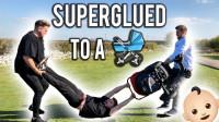 #万能胶系列#(上)双手粘在婴儿车, 享受看娃乐趣、发狂老爹惹人怕