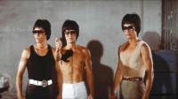 疯狂科学家克隆出3个李小龙大战泰国18铜人