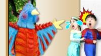 超级英雄奥特曼儿童剧:搞笑神奇任意门,带你体验不一样的世界!