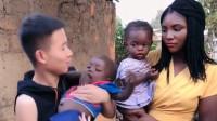 中国小伙娶非洲媳妇,如今过得咋样,看非洲媳妇的眼神就知道了