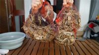 花88元买了120只小闸蟹,只花了9只大闸蟹的钱,掀开螃蟹壳后发现真不亏